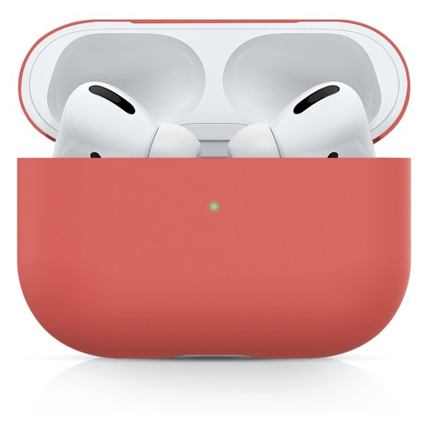 123Watches Apple AirPods PRO solid soft case - watermelon red