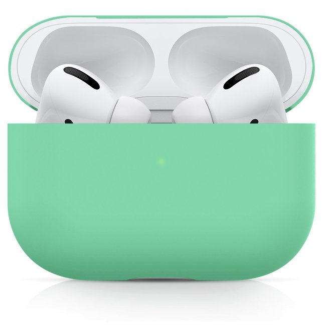 Apple AirPods PRO solid soft case - green