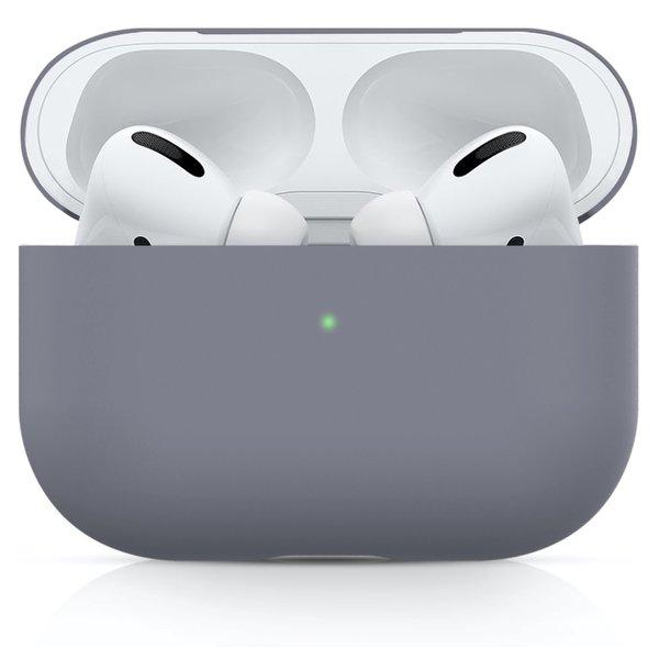 123Watches Apple AirPods PRO effen soft case - blauwe horizon