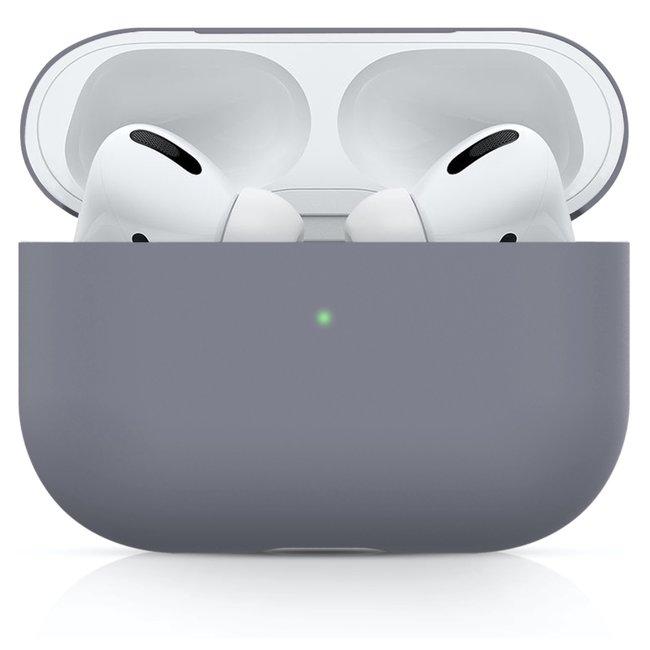 Merk 123watches Apple AirPods PRO effen soft case - blauwe horizon