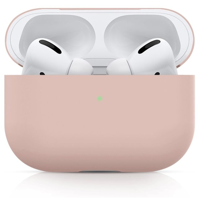Merk 123watches Apple AirPods PRO solid soft case - pink