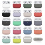 123Watches Apple AirPods PRO solid soft case - rose red