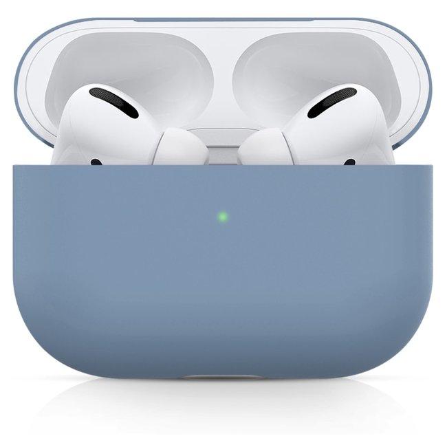 Apple AirPods PRO effen soft case - mint groen