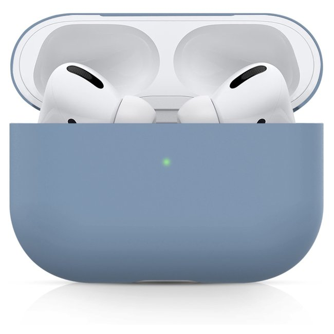 Merk 123watches Apple AirPods PRO solid soft case - mint green
