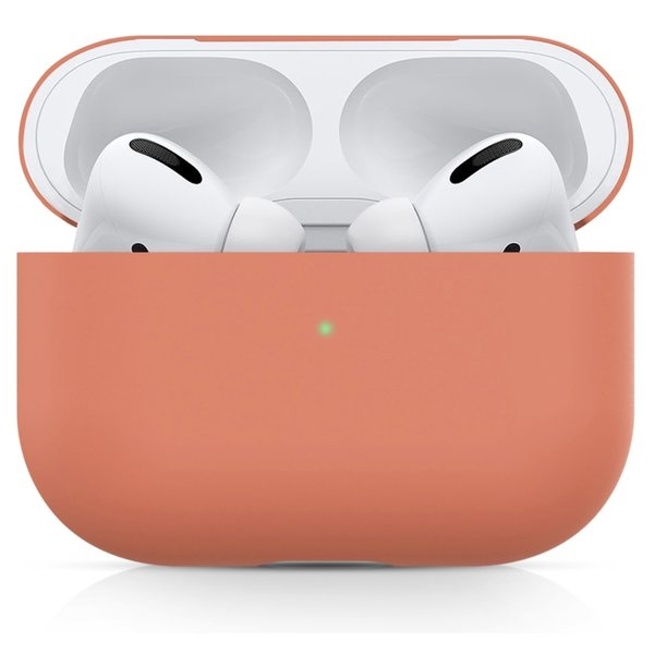 123Watches Apple AirPods PRO solid soft case - nectarine