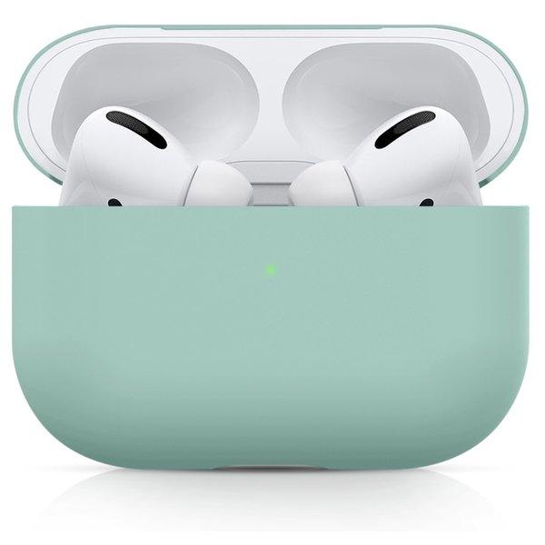 123Watches Apple AirPods PRO effen soft case - coast blauw