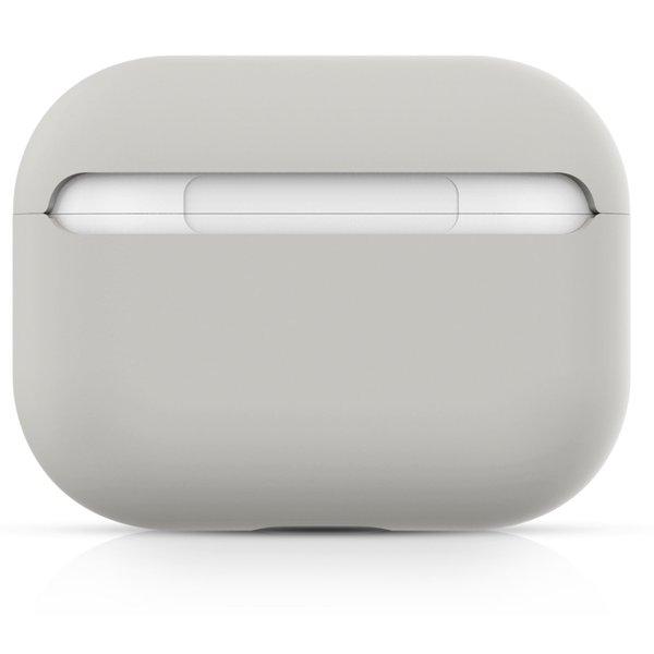 123Watches Apple AirPods PRO effen soft case - steenwit