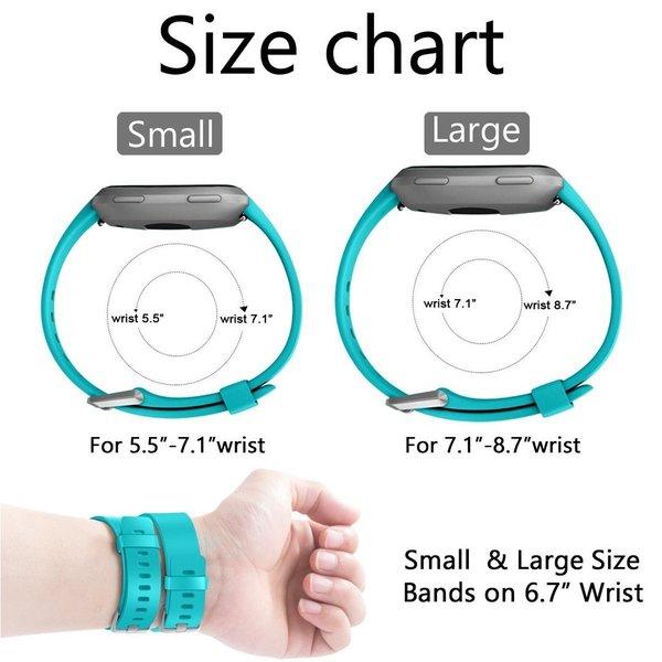 123Watches Fitbit versa sport band - mint