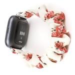 123Watches Fitbit Versa Scrunchie Band - des roses