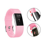 123Watches Fitbit charge 2 bracelet sportif  - rose pêche