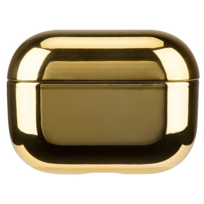 Apple AirPods PRO metallic hard case - goud