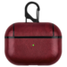 Merk 123watches Apple AirPods PRO leather hard case - red