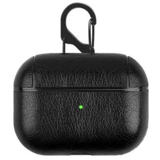 123Watches Apple AirPods PRO leather hard case - black
