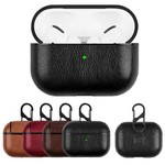 123Watches Apple AirPods PRO lederen hard case - donkerbruin