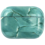 123Watches Apple AirPods PRO marble hard case - turquoise