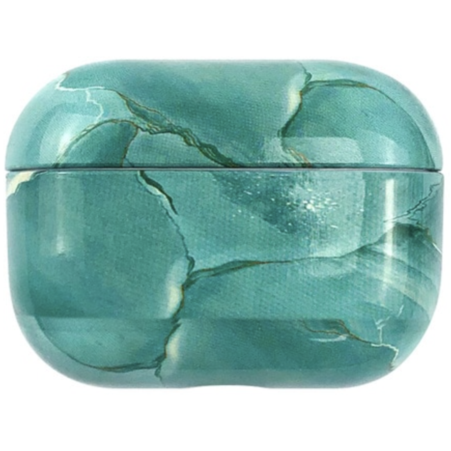 Apple AirPods PRO marble hard case - turquoise
