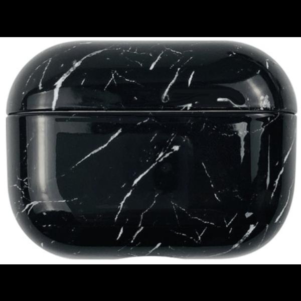 123Watches Apple AirPods PRO marble hard case - dark black