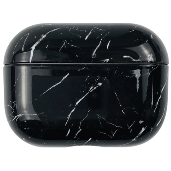 123Watches Apple AirPods PRO marmer hard case - donker zwart