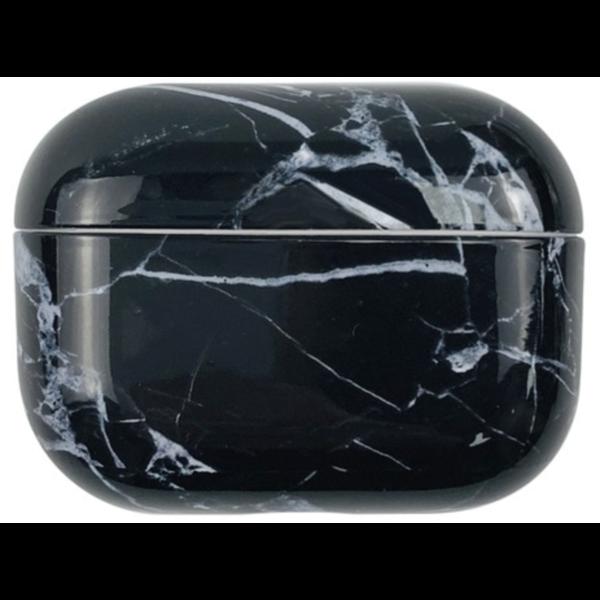 123Watches Apple AirPods PRO marmer hard case - zwart