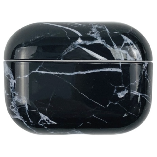 Apple AirPods PRO marble hard case - black