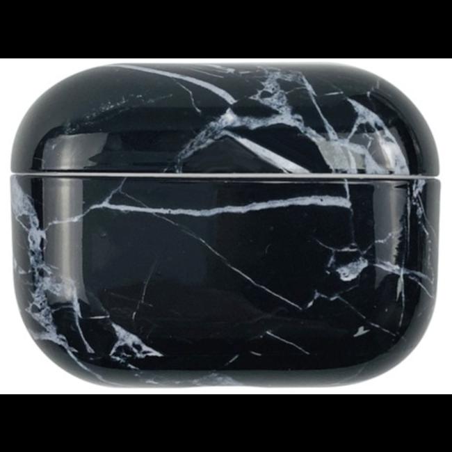 Merk 123watches Apple AirPods PRO marmer hard case - zwart