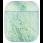 123Watches Coque Souple Marbre Apple AirPods 1 & 2 - vert