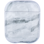 123Watches Apple AirPods 1 & 2 marble soft case - stone