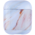 123Watches Apple AirPods 1 & 2 marble soft case - fire