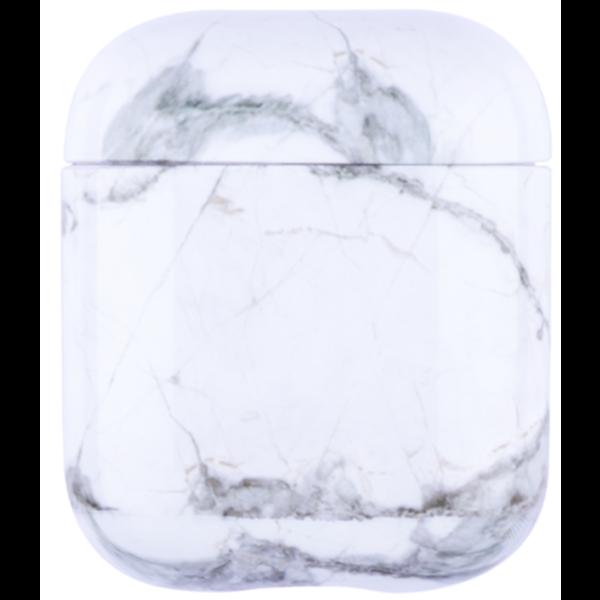 123Watches Apple AirPods 1 & 2 marmer soft case - wolk