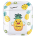 123Watches Apple AirPods 1 & 2 transparent fun hard case - pineapple
