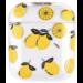 123Watches Apple AirPods 1 & 2 transparent fun hard case - lemon