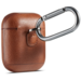 Merk 123watches Apple AirPods 1 & 2 solid leather case - brown