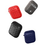 123Watches Apple AirPods 1 & 2 triangle soft case - blauw