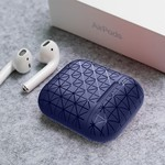 123Watches Apple AirPods 1 & 2 triangle soft case - blue