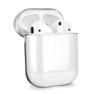 Merk 123watches Apple AirPods 1 & 2 transparant hard case - transparant