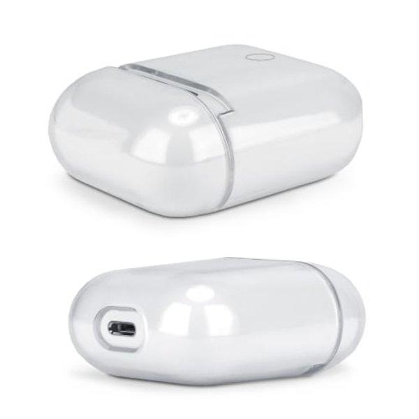 123Watches Coque Rigide transparente pour Apple AirPods 1 & 2 - transparente