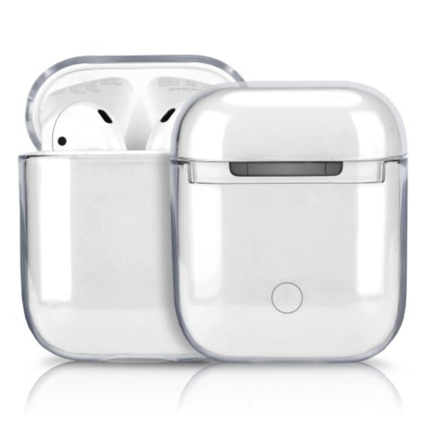 123Watches Apple AirPods 1 & 2 transparant hard case - transparant