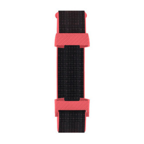 123Watches Fitbit charge 3 & 4 nylon sport band - rood roze