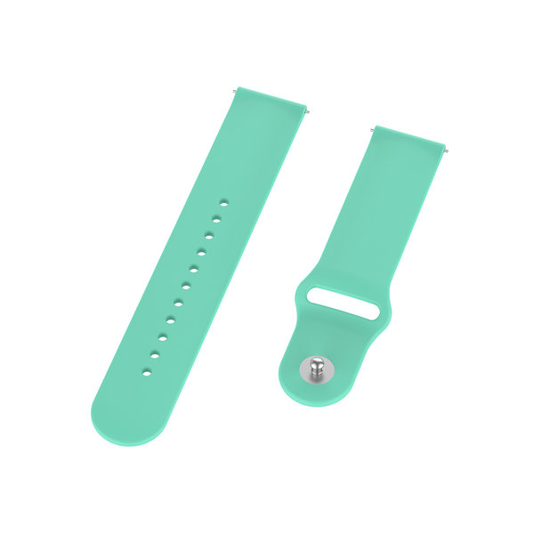 123Watches Bracelet en silicone Garmin Vivoactive / Vivomove - bleu tahoe