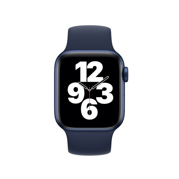 123Watches Apple watch sport solo loop band - blue