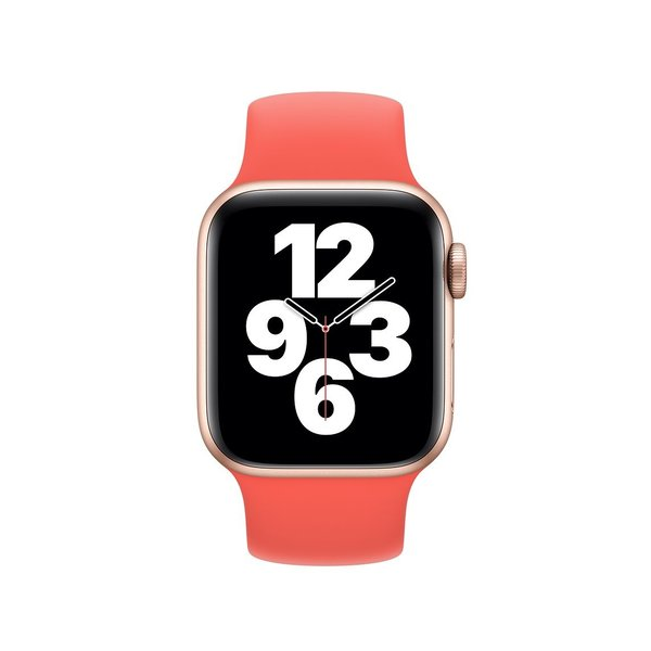 123Watches Apple watch sport solo loop band - orange