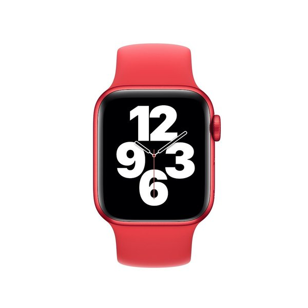 123Watches Apple watch sport solo loop band - rood