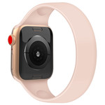 123Watches Apple watch sport solo loop band - pink sand
