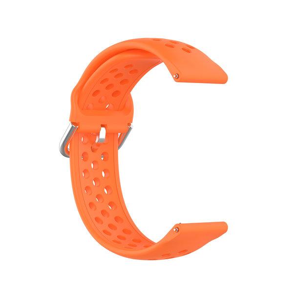 123Watches Bracelet à boucle en silicone Garmin Vivoactive / Vivomove - orange