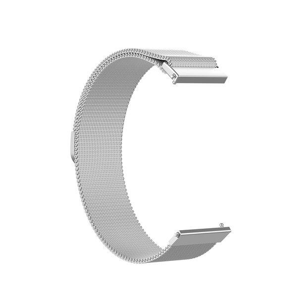 123Watches Bracelet milanais Garmin Vivoactive / Vivomove - argent