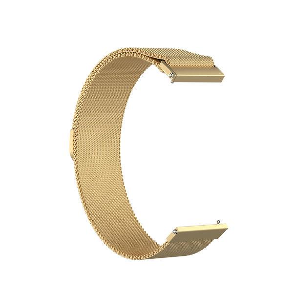 123Watches Garmin Vivoactive / Vivomove milanese band - goud