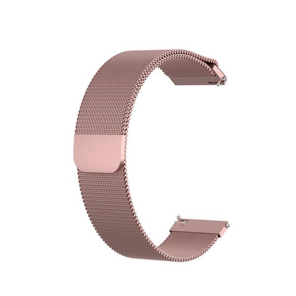 123Watches Bracelet milanais Garmin Vivoactive / Vivomove - rose rouge