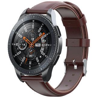 Merk 123watches Garmin Vivoactive / Vivomove leather band - light brown