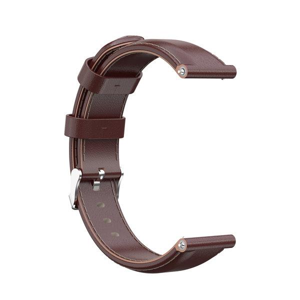 123Watches Bracelet apprendre Garmin Vivoactive / Vivomove - brun clair