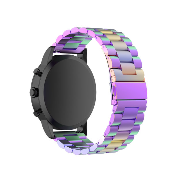 123Watches Samsung Galaxy Watch three steel band beads band - colorful